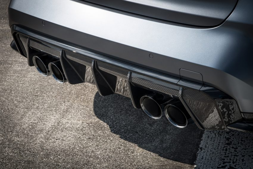 2022 BMW M3 Competition xDrive - Exhaust Wallpapers 850x566 #35