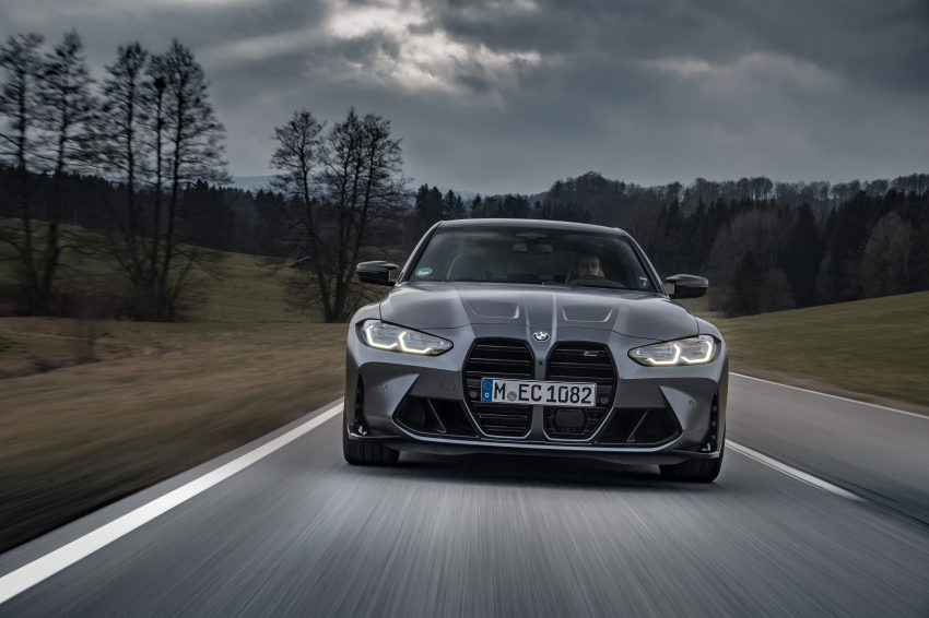 2022 BMW M3 Competition xDrive - Front Wallpapers 850x566 #10