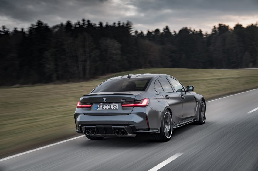 2022 BMW M3 Competition xDrive - Rear Three-Quarter Wallpapers 850x566 #14