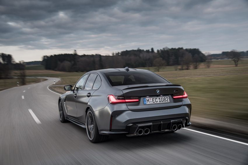 2022 BMW M3 Competition xDrive - Rear Wallpapers 850x566 #4