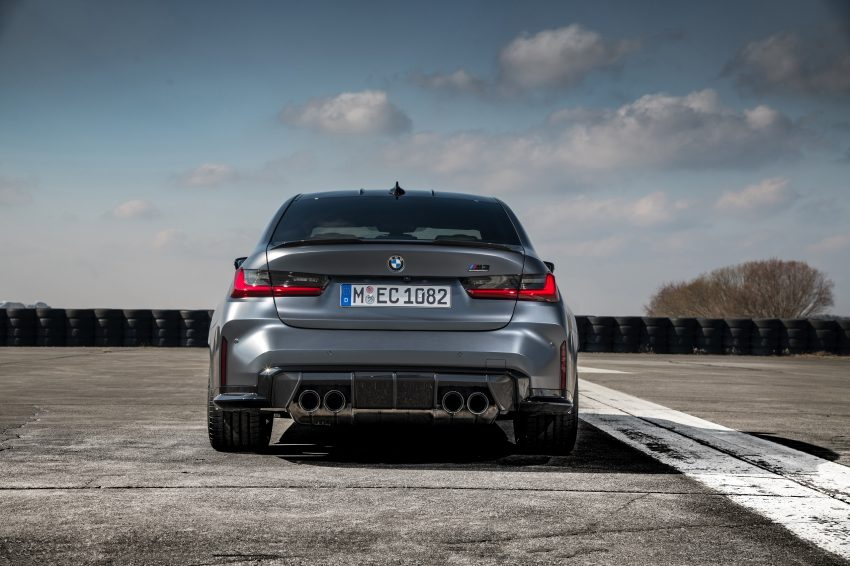 2022 BMW M3 Competition xDrive - Rear Wallpapers 850x566 #27