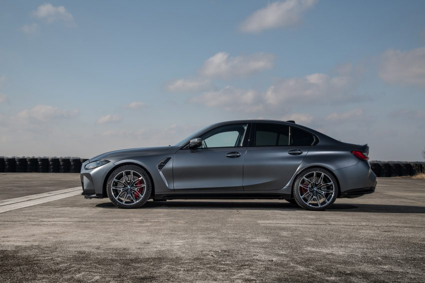 2022 BMW M3 Competition xDrive - Side Wallpapers 850x566 #29