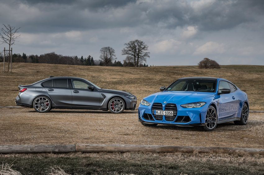 2022 BMW M3 Competition xDrive and M4 Competition xDrive Wallpapers 850x566 #19