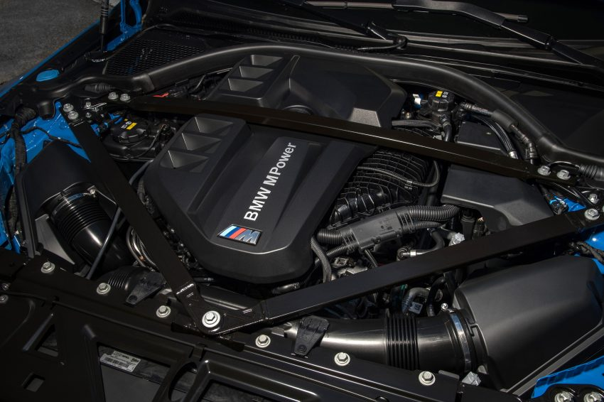 2022 BMW M4 Competition xDrive - Engine Wallpapers 850x566 #38