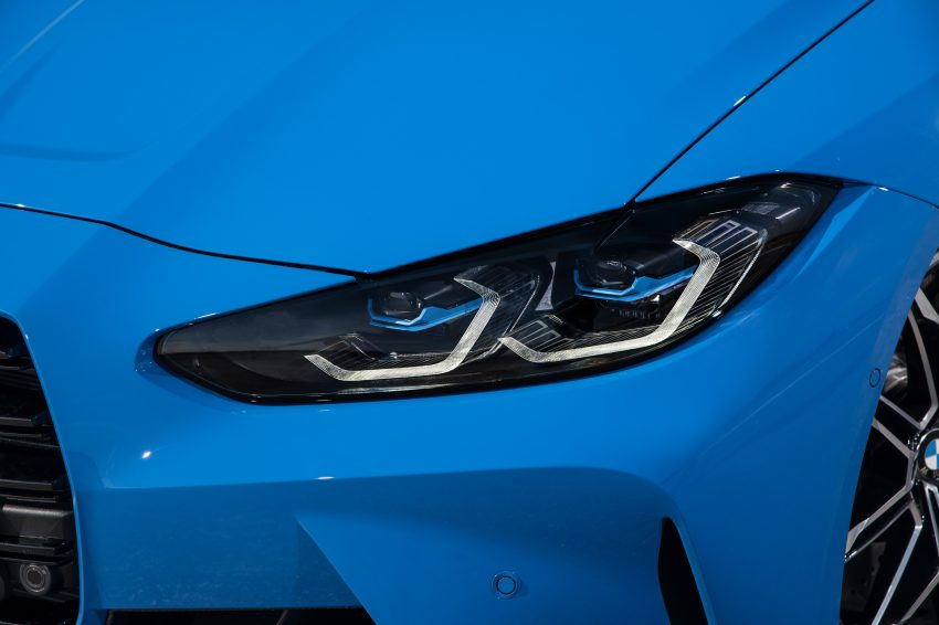 2022 BMW M4 Competition xDrive - Headlight Wallpapers 850x566 #34