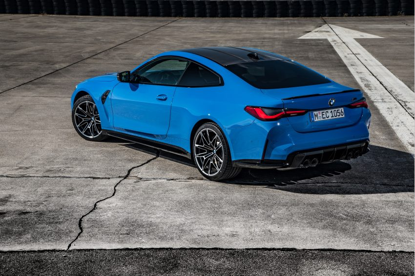 2022 BMW M4 Competition xDrive - Rear Three-Quarter Wallpapers 850x566 #26