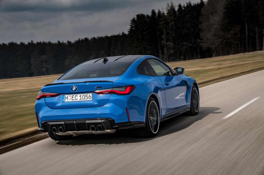 2022 BMW M4 Competition xDrive - Rear Three-Quarter Wallpapers 850x566 #13