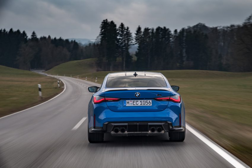 2022 BMW M4 Competition xDrive - Rear Wallpapers 850x566 #14