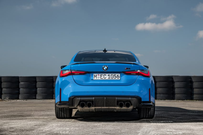 2022 BMW M4 Competition xDrive - Rear Wallpapers 850x566 #28