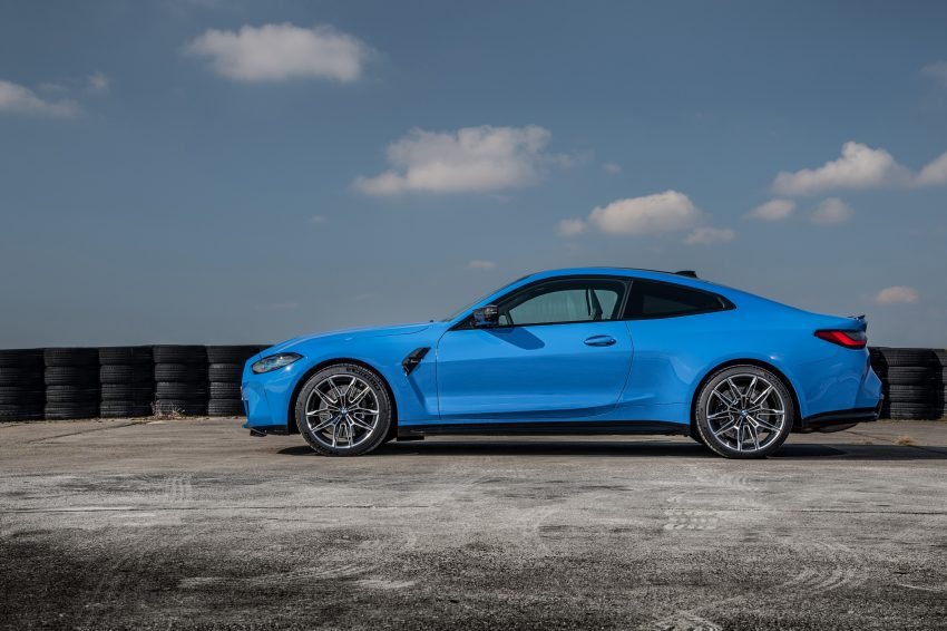 2022 BMW M4 Competition xDrive - Side Wallpapers 850x566 #29