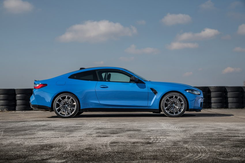 2022 BMW M4 Competition xDrive - Side Wallpapers 850x566 #30