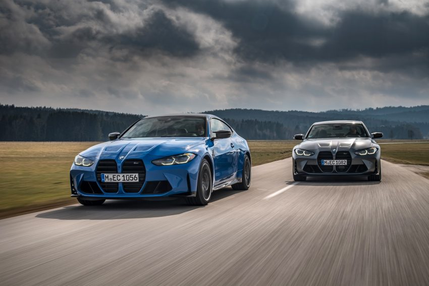 2022 BMW M4 Competition xDrive and M3 Competition xDrive - Front Wallpapers 850x566 #6