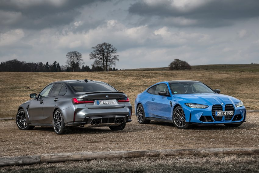 2022 BMW M4 Competition xDrive and M3 Competition xDrive Wallpapers 850x566 #18