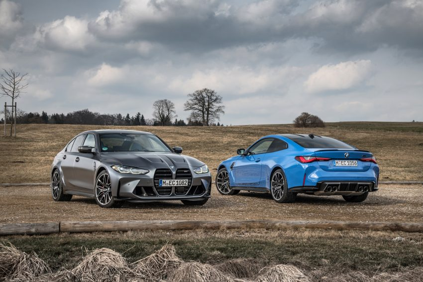 2022 BMW M4 Competition xDrive and M3 Competition xDrive Wallpapers 850x566 #19