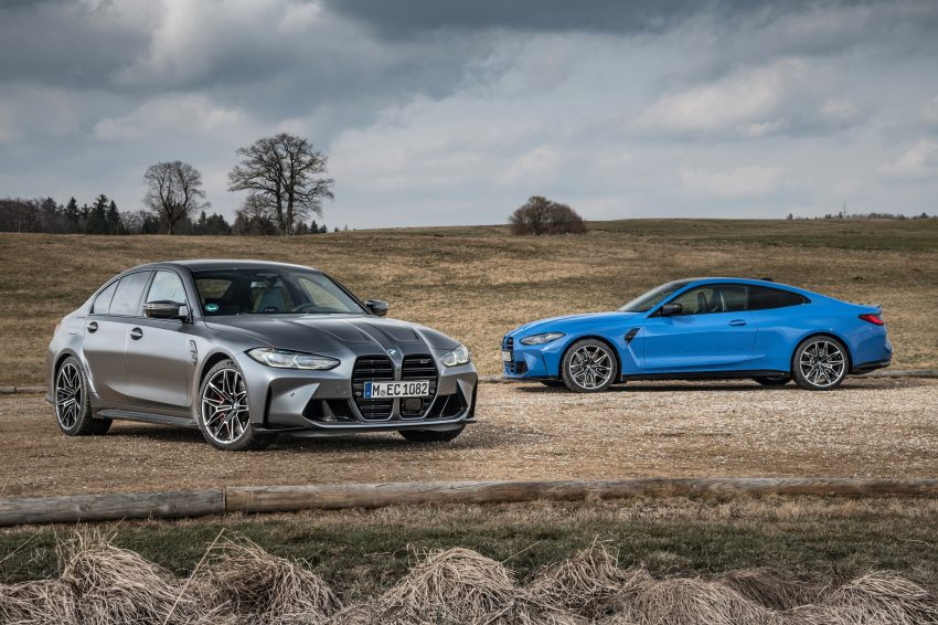 2022 BMW M4 Competition xDrive and M3 Competition xDrive Wallpapers 850x566 #20