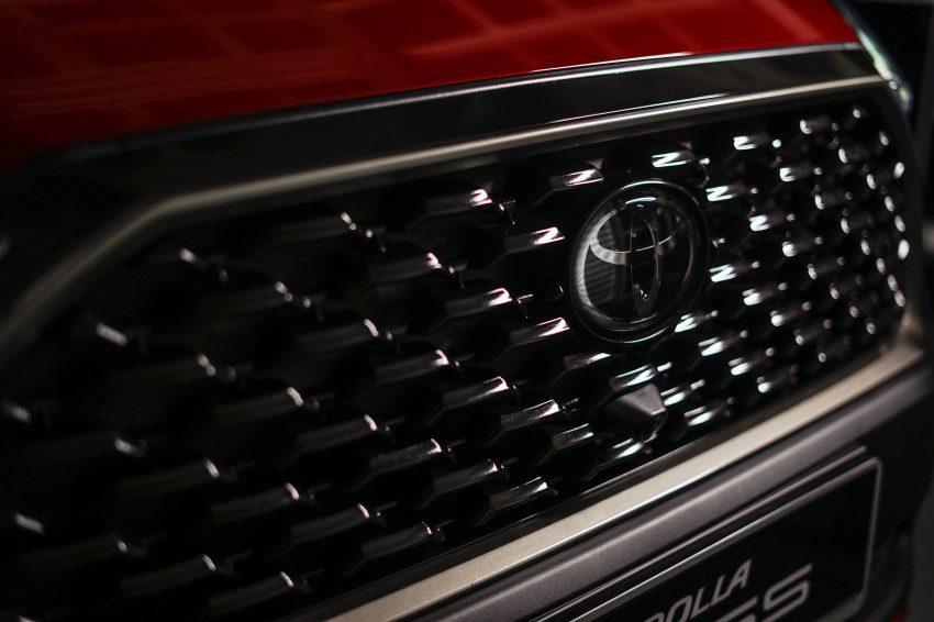 2022 Toyota Corolla Cross [MY-spec] - Grill Wallpapers 850x566 #17