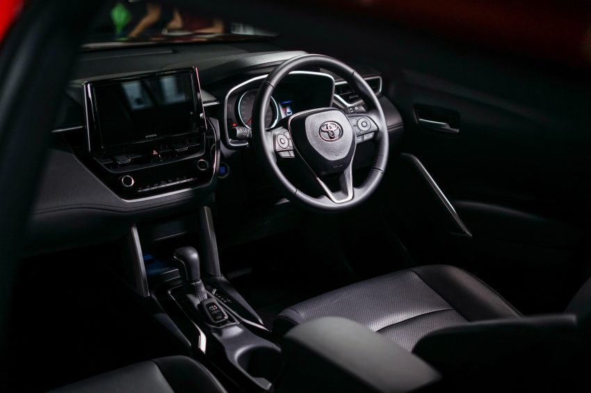 2022 Toyota Corolla Cross [MY-spec] - Interior, Cockpit Wallpapers 850x566 #21
