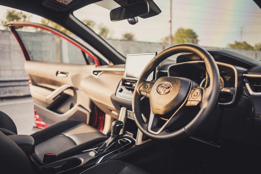 2022 Toyota Corolla Cross [MY-spec] - Interior, Steering Wheel Wallpapers 850x566 #23