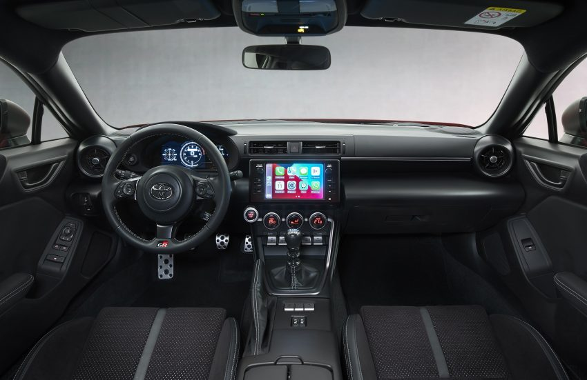 2022 Toyota GR 86 [EU-spec] - Interior, Cockpit Wallpapers 850x551 #35