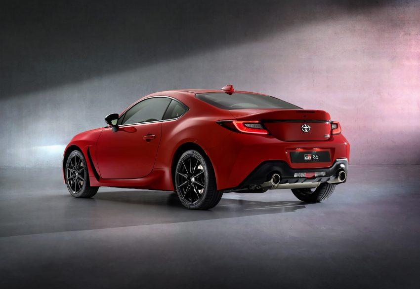 2022 Toyota GR 86 [EU-spec] - Rear Three-Quarter Wallpapers 850x586 #27