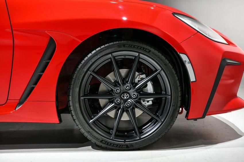 2022 Toyota GR 86 [JP-spec] - Wheel Wallpapers 850x566 #32