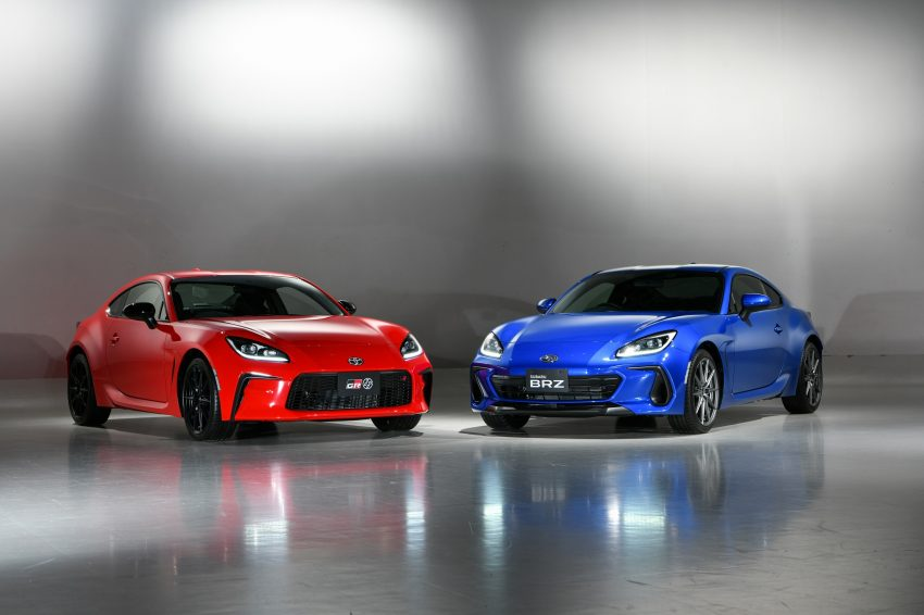 2022 Toyota GR 86 and Subaru BRZ - Front Three-Quarter Wallpapers 850x566 #21