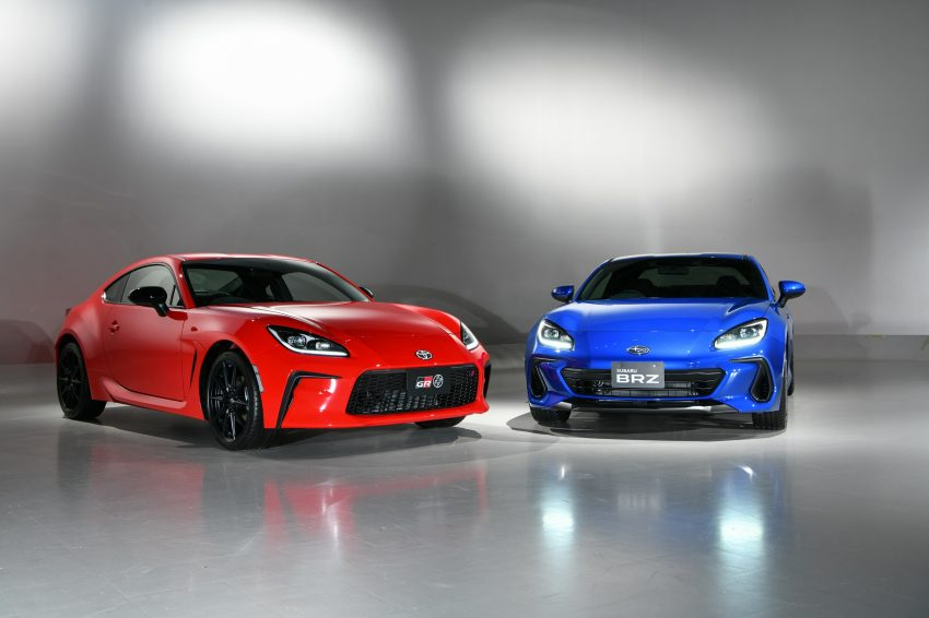 2022 Toyota GR 86 and Subaru BRZ - Front Wallpapers 850x566 #23