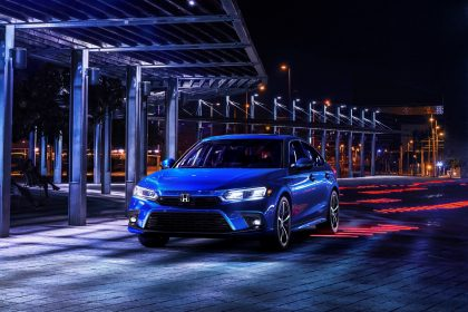 Download 2022 Honda Civic Sedan Touring HD Wallpapers