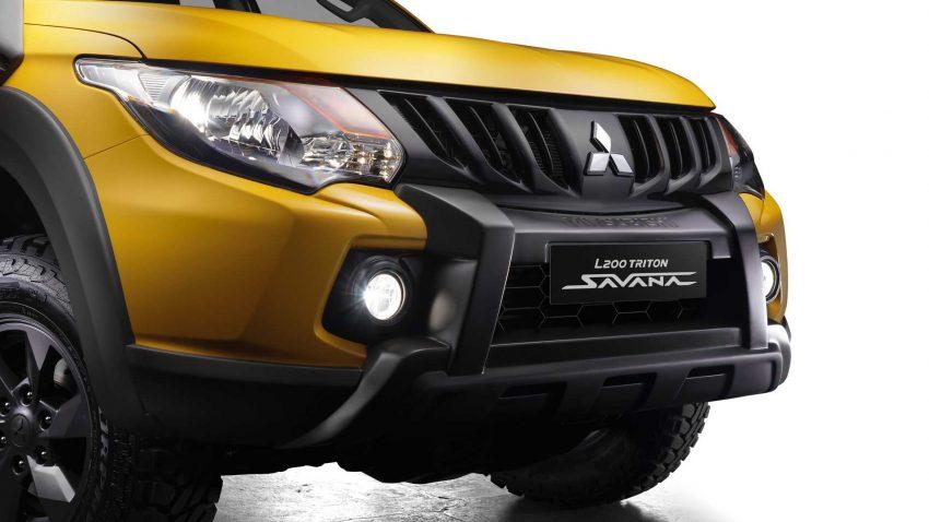 2022 Mitsubishi L200 Triton Savana - Front Bumper Wallpapers 850x478 #23