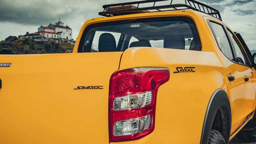 2022 Mitsubishi L200 Triton Savana - Tail Light Wallpapers 850x478 #15