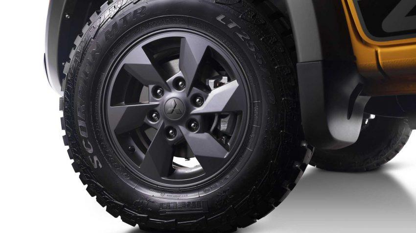 2022 Mitsubishi L200 Triton Savana - Wheel Wallpapers 850x478 #24
