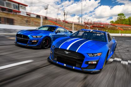 Download 2022 NASCAR Next Gen Ford Mustang HD Wallpapers