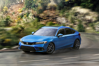 Download 2022 Honda Civic Hatchback HD Wallpapers