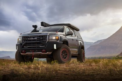 Download 2021 GMC Canyon AT4 OVRLANDX Off-Road Concept HD Wallpapers