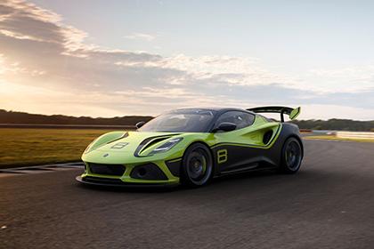 Download 2021 Lotus Emira GT4 Concept HD Wallpapers