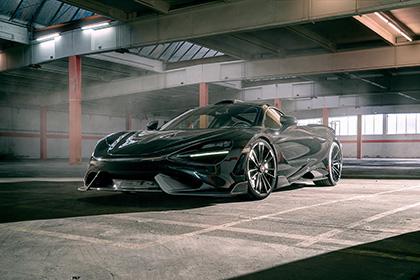 Download 2021 McLaren 765LT by Novitec HD Wallpapers