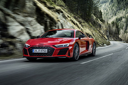 Download 2022 Audi R8 Coupe V10 Performance RWD HD Wallpapers